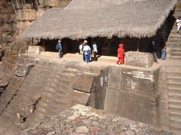 Aztec ruins in Malinalco