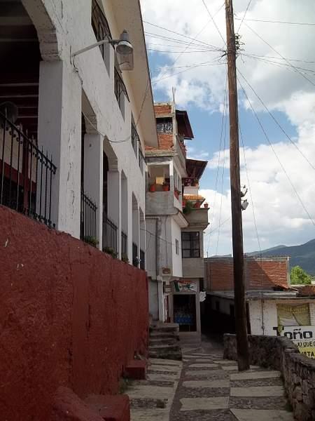Island of Janitzio, street scene