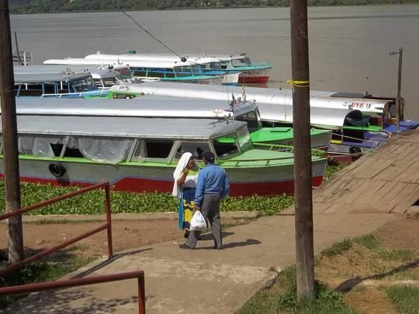 Dock on Island of Janitzio