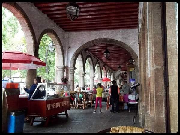 Portal, Patzcuaro, Michoacan