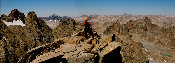 An August Ascent of Mt. Sill by DaveWyman