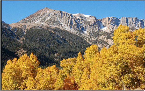 Sierra Nevada East Side - Autumn, 2006 by DaveWyman