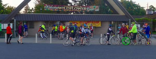 Start of the Ride - Silver Dollar Fairgrounds