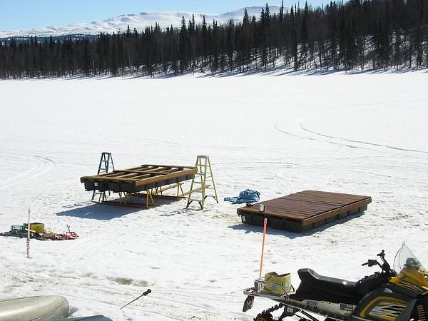 Building New Docks by AlaskaArt