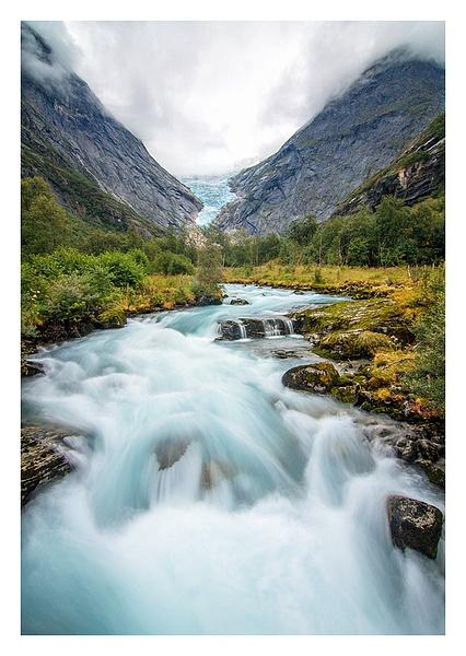 Norwegian Fjords by JenaAlbazi