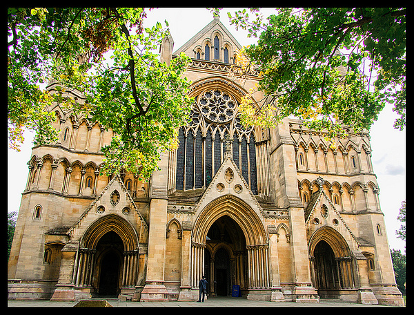 St Albans Cathedral by JenaAlbazi