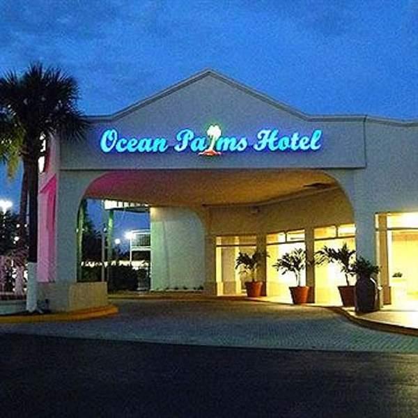 Ocean Palm Hotel St. Petersburg florida
