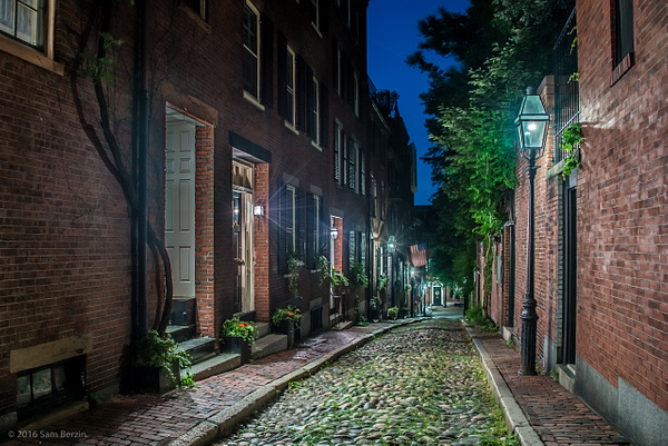 Acorn Street by SBerzin