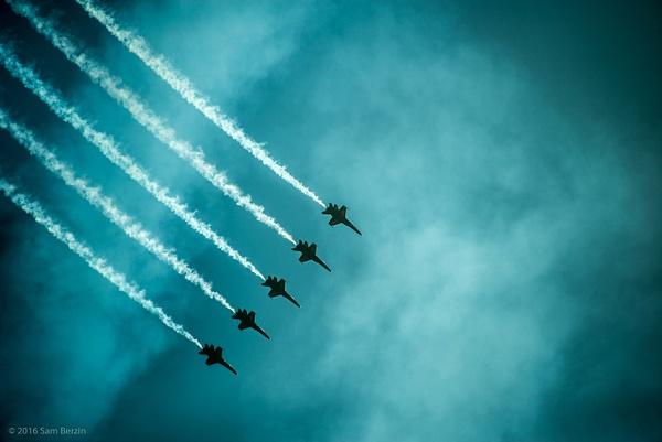 Blue Angels by SBerzin