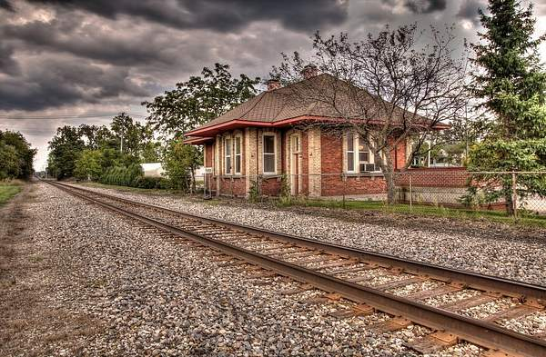 Fenton Railroad Depot