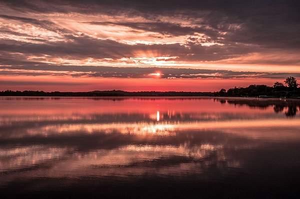 Sunrise on Lake Cadillac