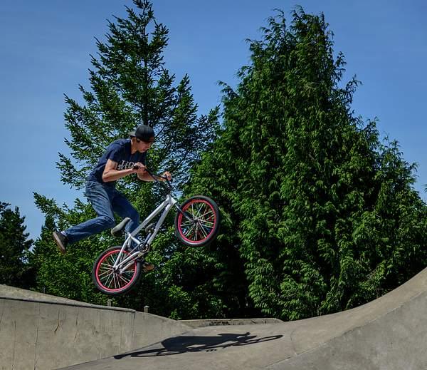 At the Bike Park 3