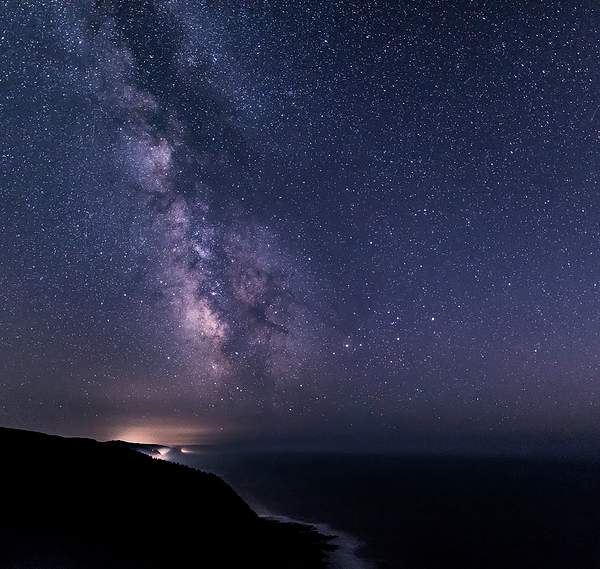 Milky way from Cape Perpetua(1 of 1)