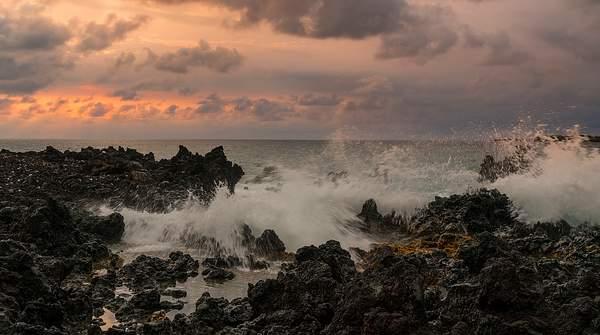 Sunset AT Manini Beach