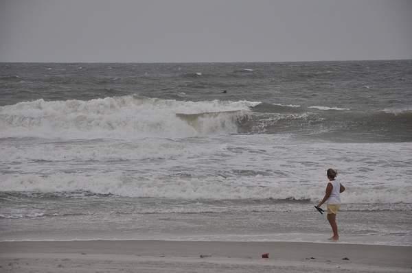 Hurricane Earl Lurking