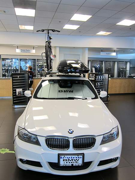 Best practice for promoting sunshade, bike, bike rack, roof storage at Irvine