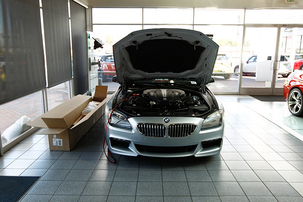 Long Beach BMW M Performance Point of Sale Installation by WesternRegionPics