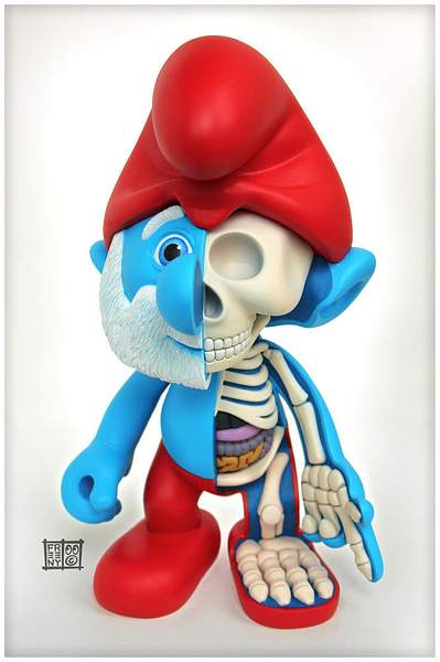 Papa-Smurf-Dissected