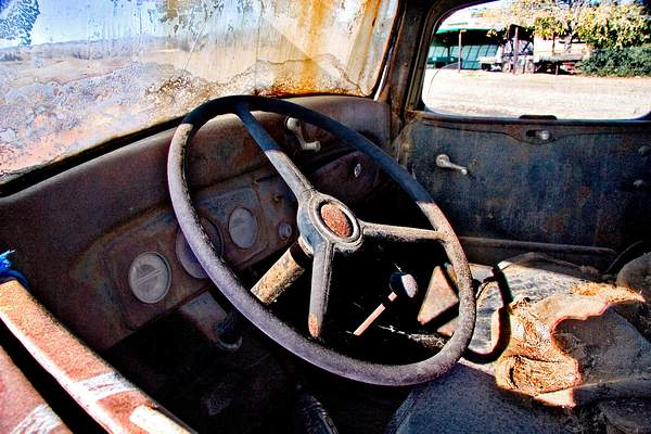 Old Chevy Interior