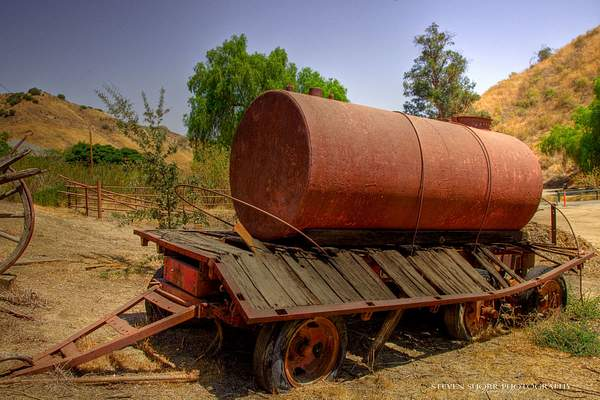 Old Water Tanker