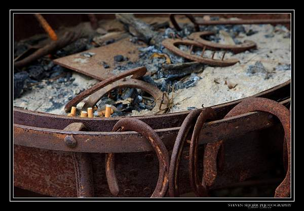 Rustic Ash Tray