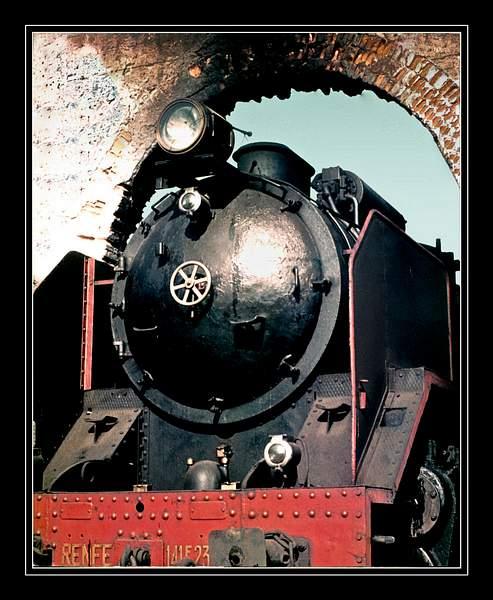 Spain-Locomotive