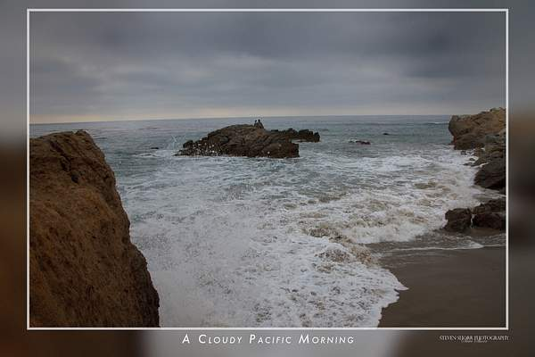 A Cloudy Pacific Morning
