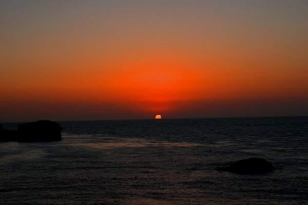 Parsons Beach Sunse