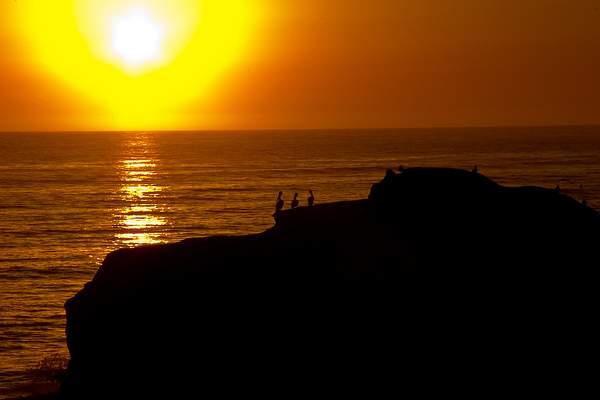 Sunset at Santa Cruz