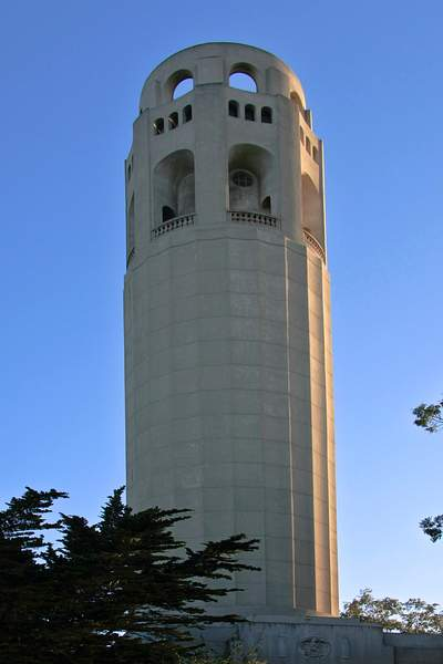 Coit Tower by Day