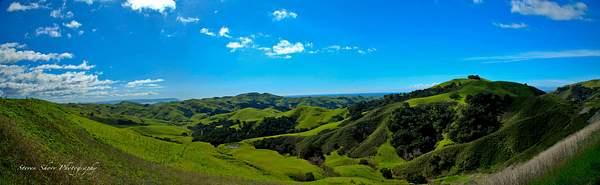 CA HWY 46 Panorama