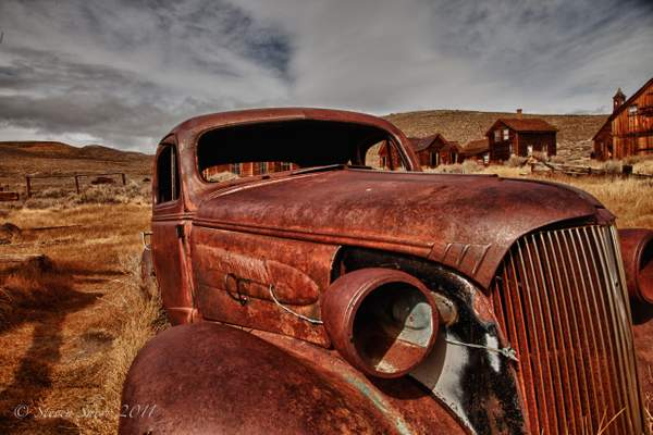 Old Car Bodie-2010 HDR
