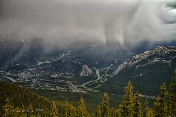 Banff View From Sulphur Mountain-1