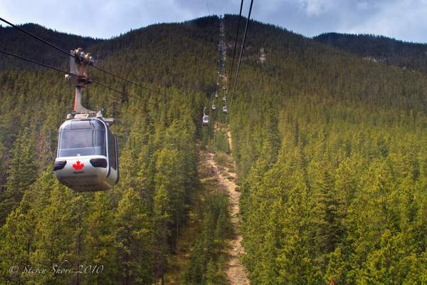 Sulphur Mountain Gondola-1