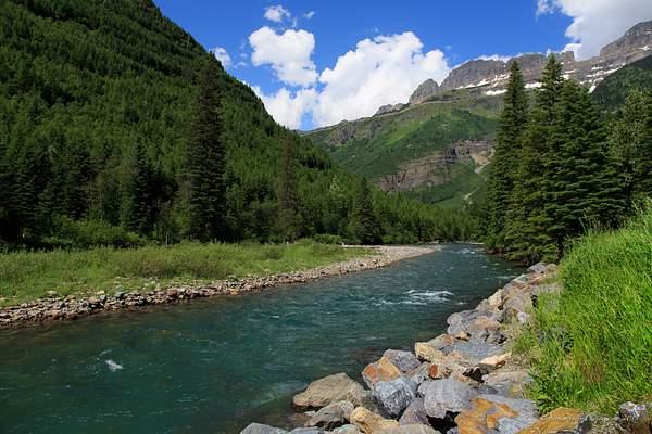 River Glacier National Park