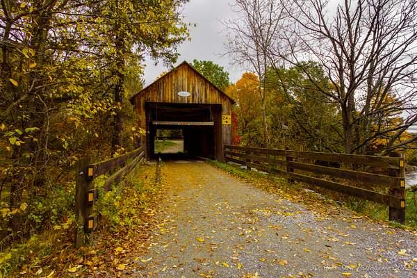 Covered Bridge Sherbrooke CANADA 2