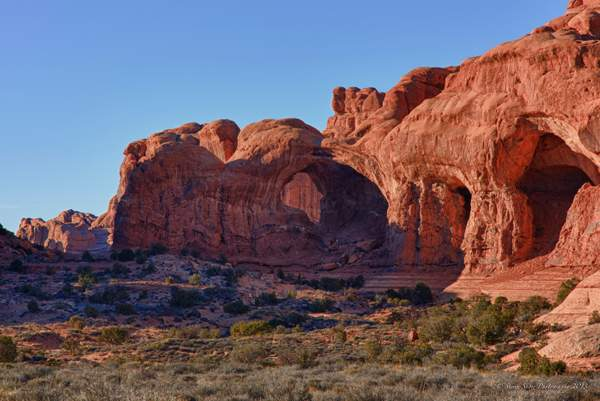 Double Arch Area Arches NP-1