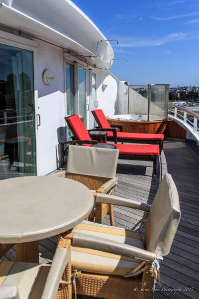 Stateroom Balcony on the Norwegian Sun