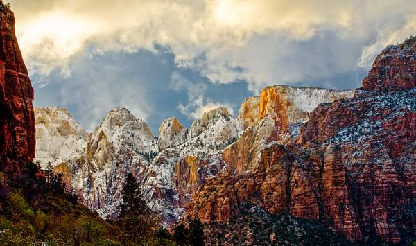 ZION PARK in Winter -UTAH