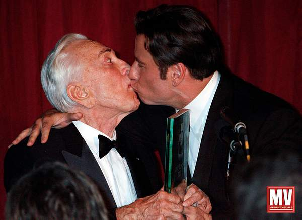 John Travolta & Kirk Douglas