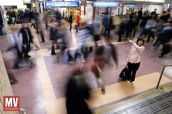 Places: Tokyo Train Station,  Japan