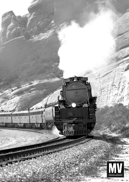 Union Pacific #3985 Over Cajon Pass