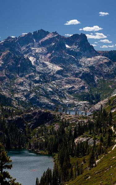 Sierra Buttes & Salmon Lake