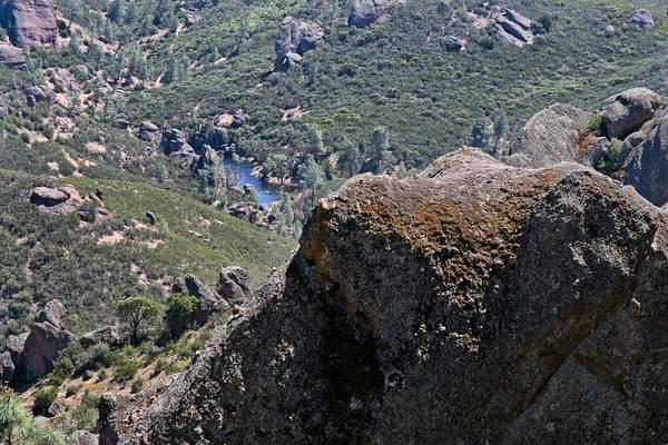 Small Lake Amid the Rocks