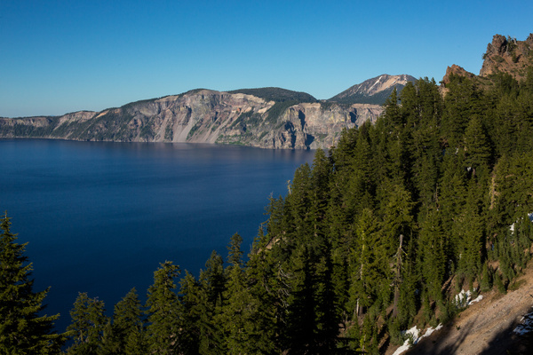 Crater Lake Area by Harrison Clark