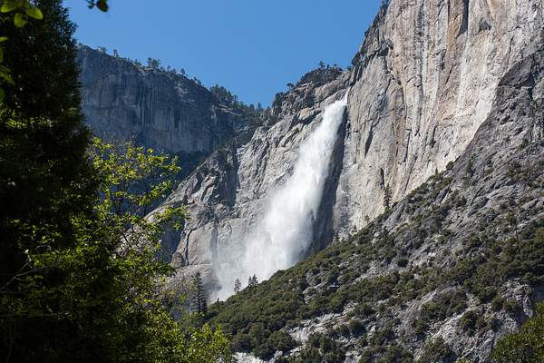Upper Yosemite Falls in Wind from Northside Dr.jpg
