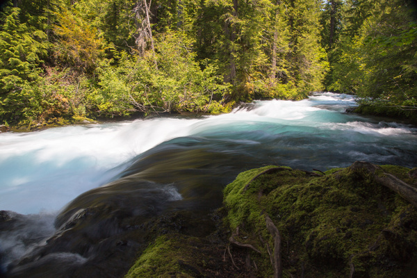 McKenzie Pass, River, & Sisters by Harrison Clark