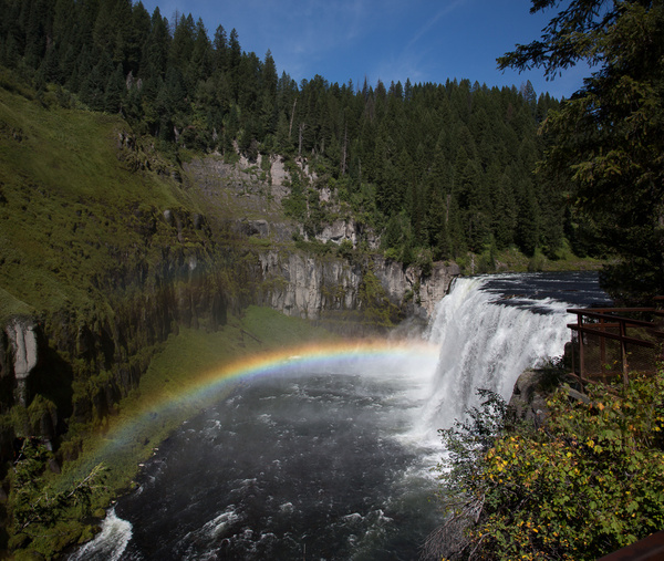 Mesa Falls & Road South to Twin Falls by Harrison Clark