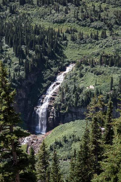 Cascade & Falls East of Logan Pass.jpg
