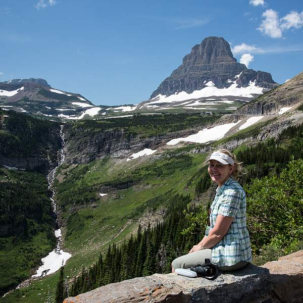 Enjoying the View East of Logan Pass.jpg